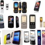 様々な最新携帯電話