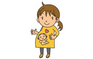 妊娠中の新婦