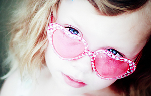 子供のサングラス