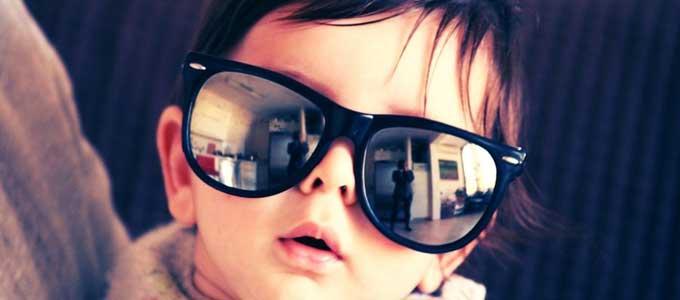 子どものサングラス