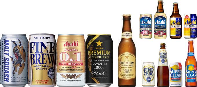 市場から消えたノンアルコールビール