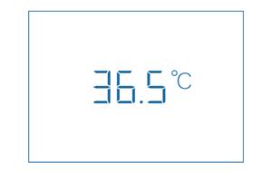 一般的な平均体温は、36.5度