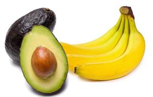 青いアボカドに効果を発揮するバナナ
