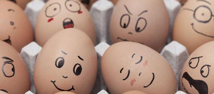 新鮮な卵は