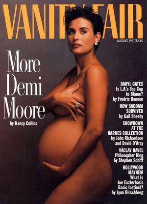 VANITY FAIR 1991年8月号の表紙
