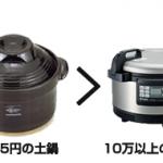 10万円の炊飯器よりも、ごはんが美味しく炊ける1995円の土鍋