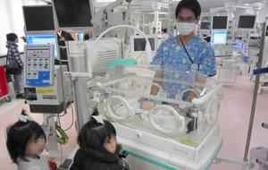埼玉医大・総合周産期母子医療センターの新生児集中治療室(NICU)