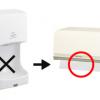 手洗い後は、ハンドドライヤーよりペーパータオルが衛生的