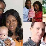 黒人夫婦に白人の赤ちゃん