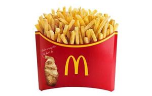 マクドナルドのメガポテト