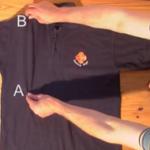 【動画付き】たった2秒で洗濯物(シャツ)をたたむ方法