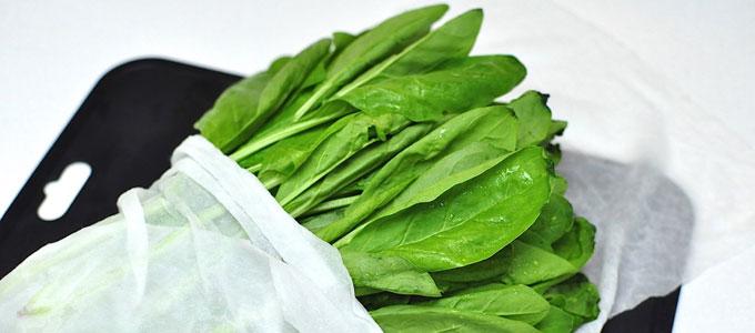青菜類の保存方法
