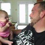 生後2ヶ月の赤ちゃんが話す「I LOVE YOU」がスゴい