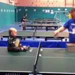 オリンピックを見据える世界最年少ベビー卓球選手!
