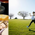 出産の体力をつける食事・睡眠・運動