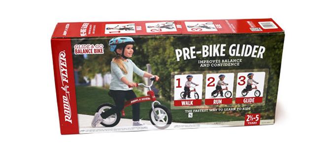 ラジオフライヤーのバランスバイクの箱