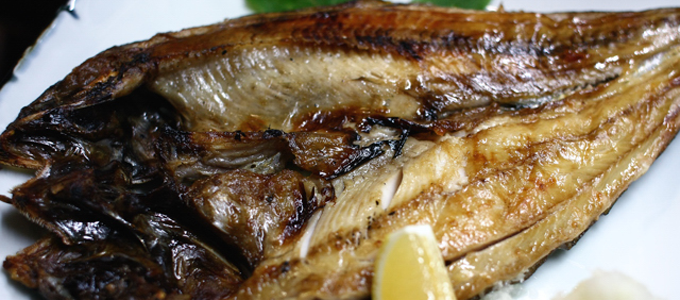 くさやの焼き魚