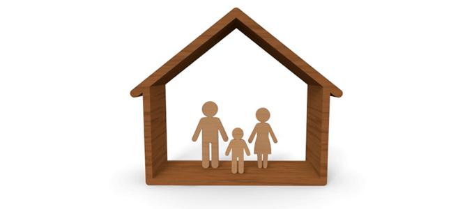 家族で暮らすマイホーム