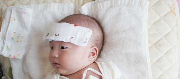 赤ちゃんの高熱