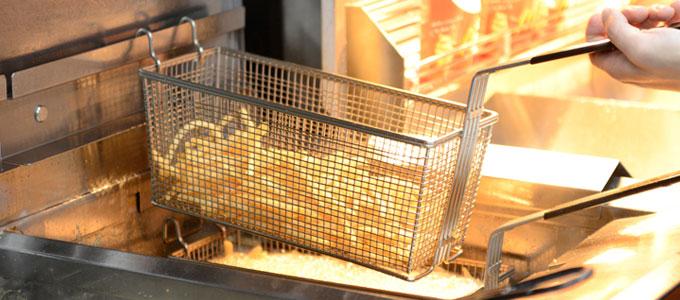 マクドナルド:熱々フライドポテト